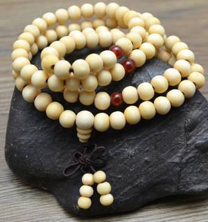 Mala Armband / Halsband - Natural