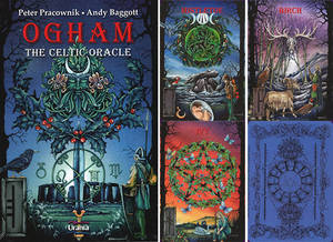 Ogham , The Celtic Oracle - Pracownik / Baggott
