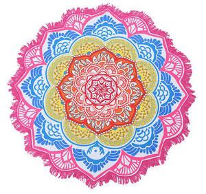 Mandala Näckrosen Chakra Matta / Duk - Rosa