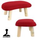 Meditationsstol med Ben- Röd