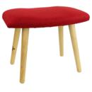 Meditationsstol med Ben- Röd - Stor
