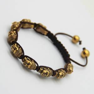 Buddha Armband - Meditating Heads